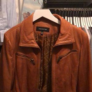 Women's Leather Jacket Jones New York